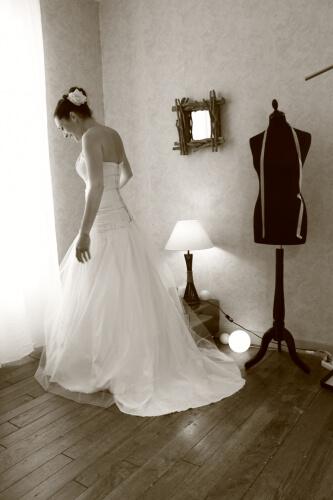 La mariée sur mesure