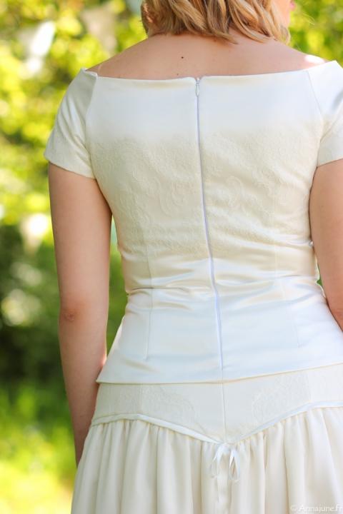 créateur robes de mariée, créatrice robes de mariée, robes de mariée poitou charentes, robe style bohème chic rétro