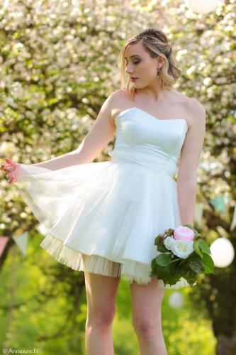 créateur robes de mariée, créatrice robes de mariée, robes de mariée poitou charentes, robe style rétro tulle