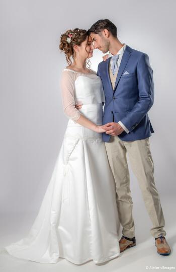 Shooting salon du mariage Parthenay 3