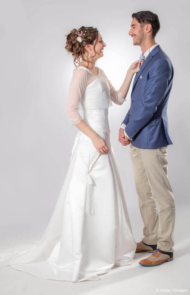 Shooting salon du mariage Parthenay 4