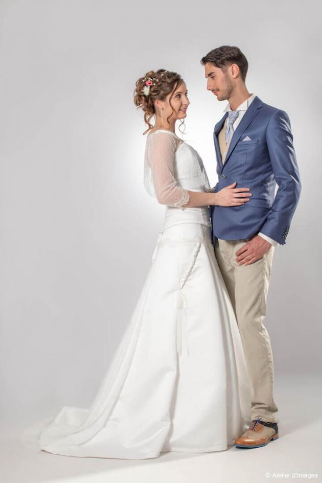 Shooting salon du mariage Parthenay 9