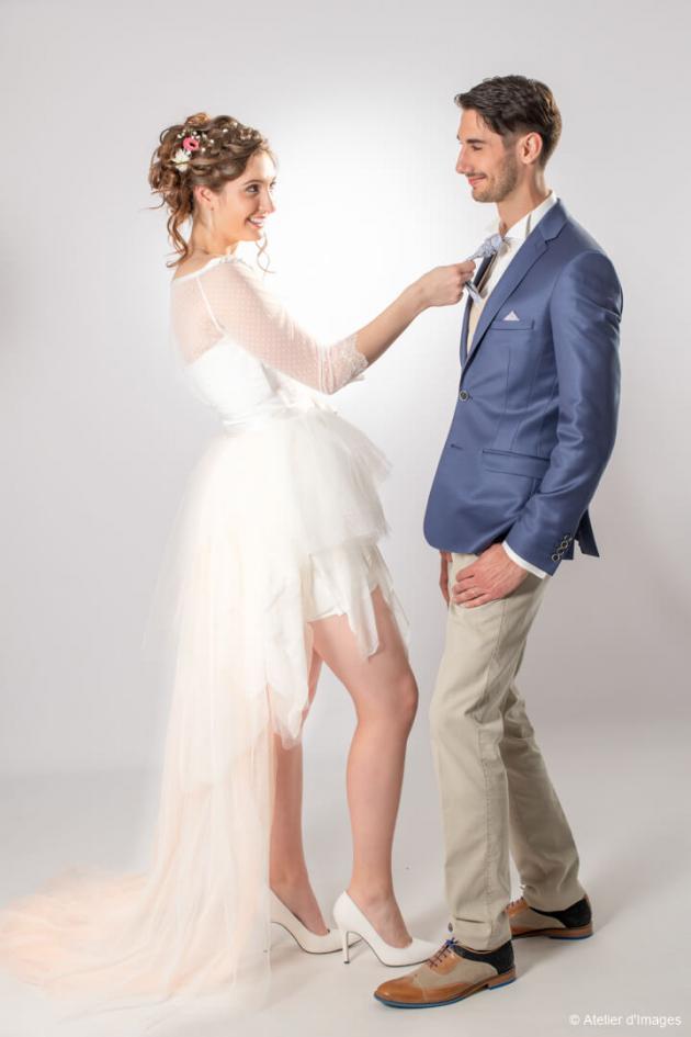 Shooting salon du mariage Parthenay 24