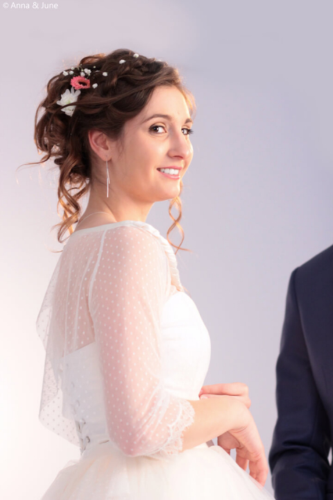 Shooting salon du mariage Parthenay 31