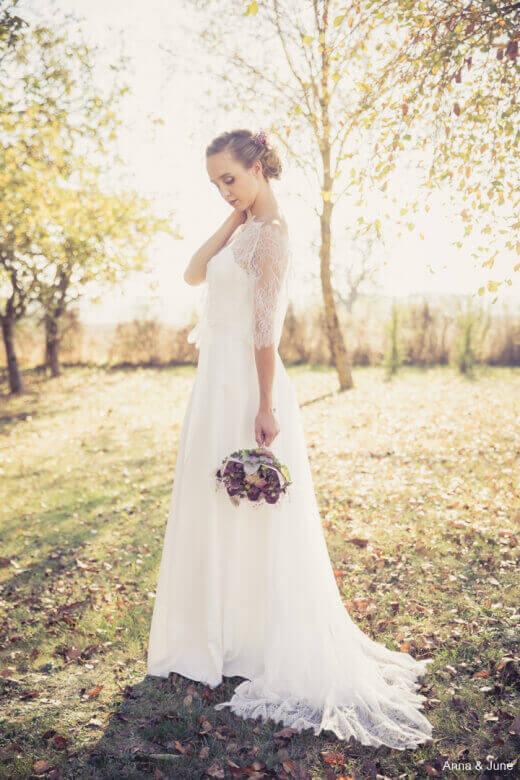 robe de mariée fluide deux sèvres, création robe de mariées fluide niort,créateur robes de mariée fluide poitiers
